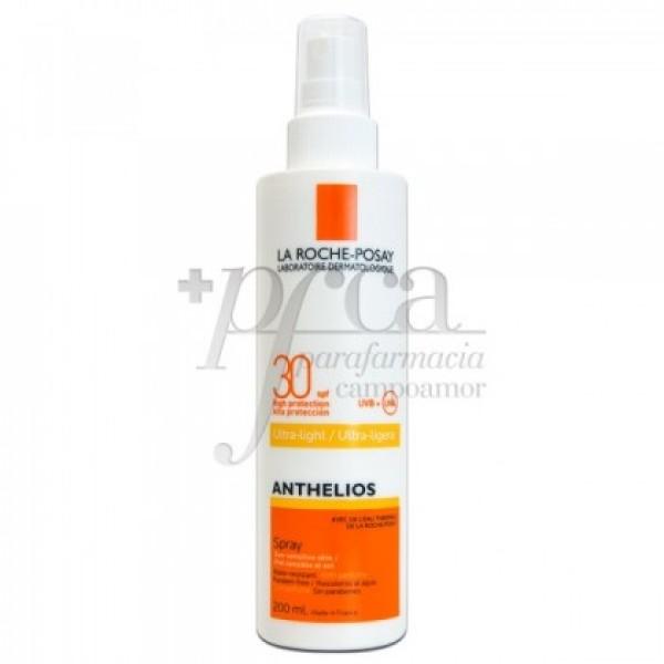 ANTHELIOS SPRAY SOLAR SPF30 ULTRA LIGERO 200ML