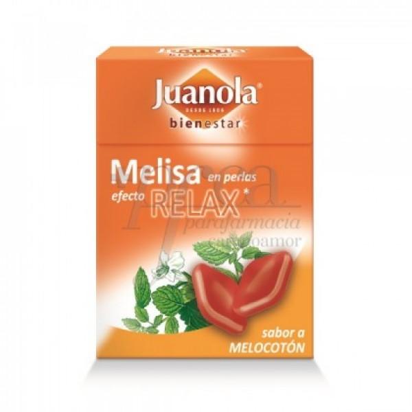 JUANOLA PERLAS MELISA 25G SABOR MELOCOTON