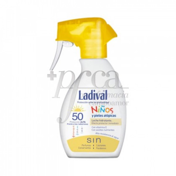 LADIVAL NIÑOS FPS50 SPRAY LECHE HIDRATANTE 200ML
