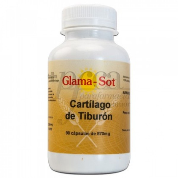 GLAMA-SOT CARTILAGO DE TIBURON 870MG 90 CAPS