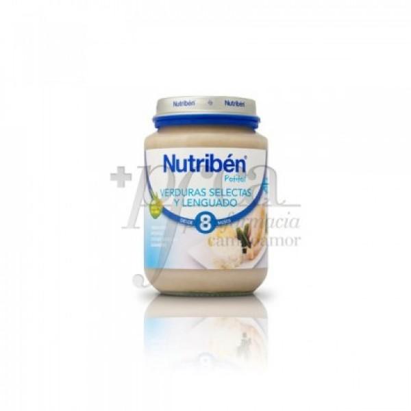NUTRIBEN VERDURAS SELECTAS Y LENGUADO  200 G