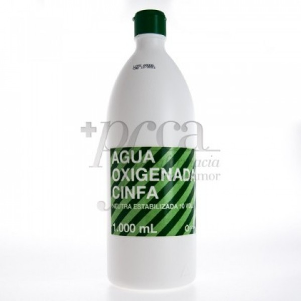 CINFA AGUA OXIGENADA 10 VOL 1000ML