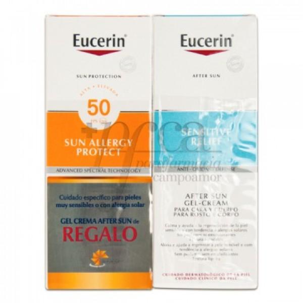 EUCERIN SUN ALLERGY GEL-CREMA SPF50 REGALO PROMO