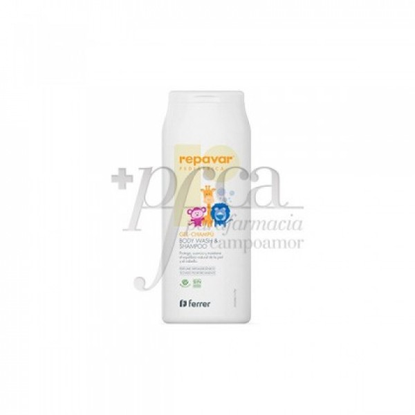 REPAVAR PEDIATRICA GEL CHAMPU 200ML