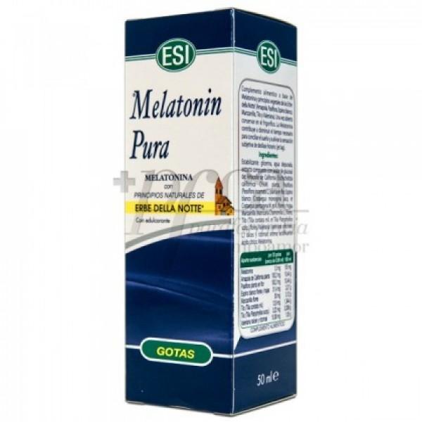 MELATONIN PURA GOTAS 1 MG ERBE DELLA NOTTE 50ML