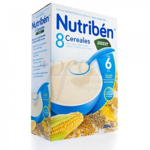 NUTRIBEN 8 CEREALES  DIGEST 300G