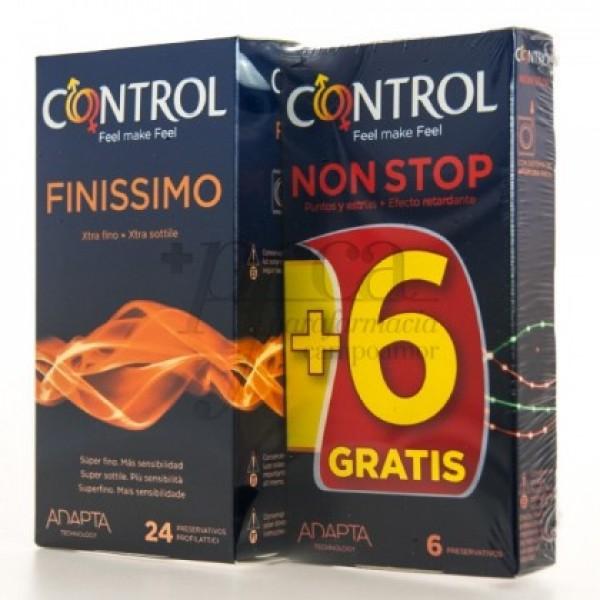 CONTROL FINISIMO 24U+6 NON STOP PROMO