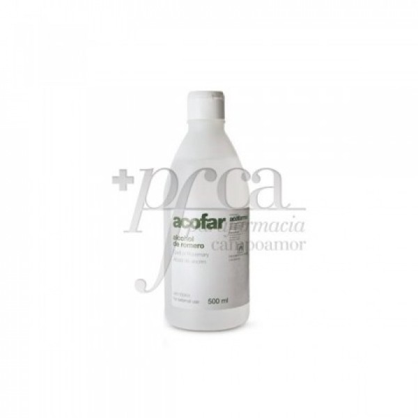 ACOFAR ALCOHOL DE ROMERO 500 ML