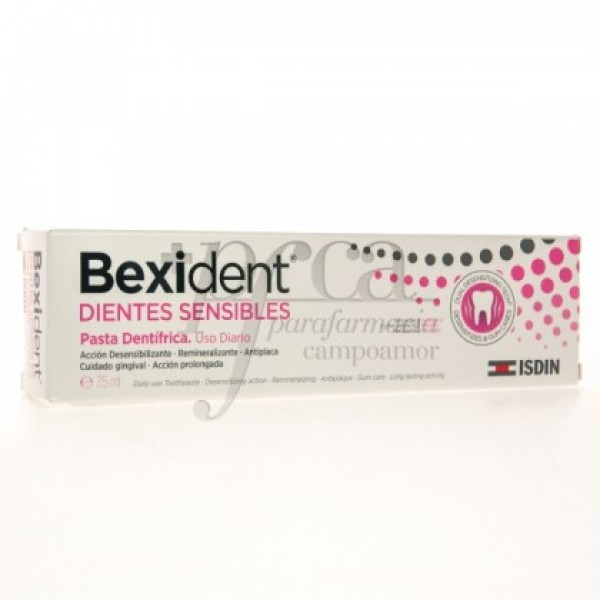 BEXIDENT DIENTES SENSIBLES PASTA DENTIFRICA 75ML