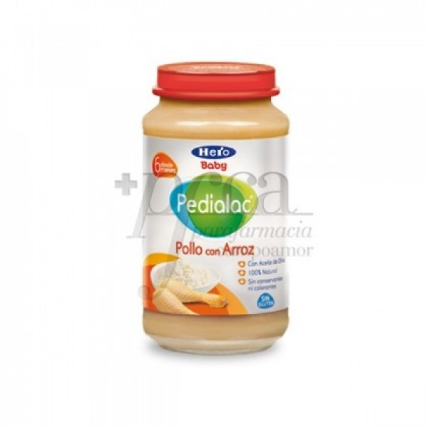 HERO BABY PEDIALAC POLLO CON ARROZ 250 G