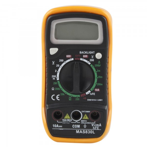 Multimetro digital 600v.