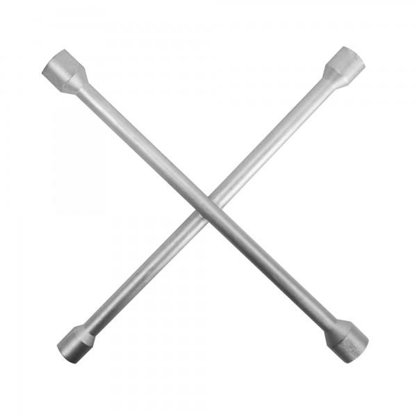 Llave rueda forma cruz 17-19-21-22 mm.
