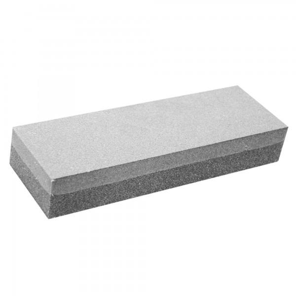 Piedra afilar rectang. dos granos 15 cm.