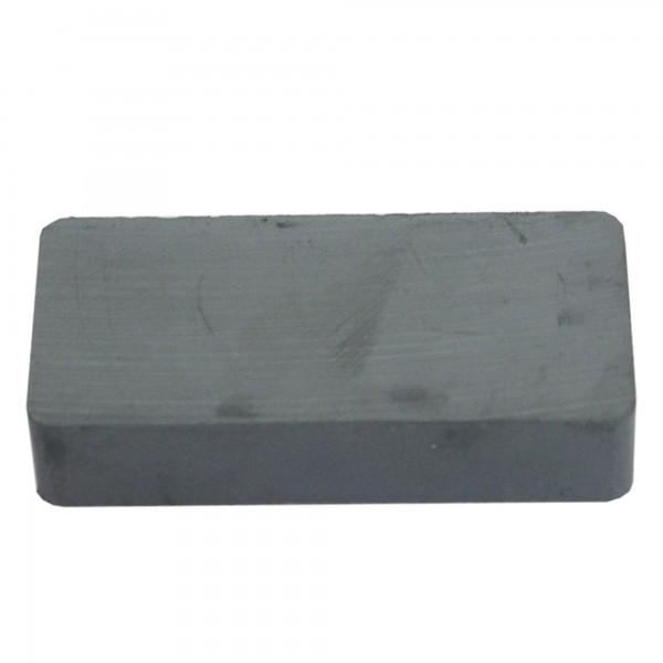 Iman ferrita rectangular  40x20x10 mm.