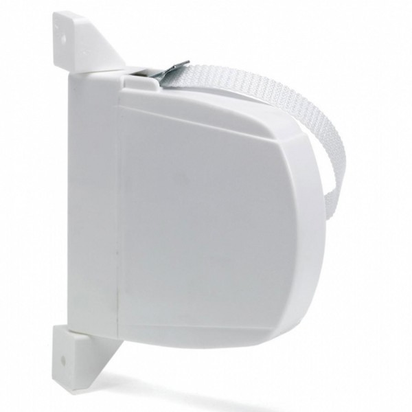 Recogedor abat.c/cinta estrecha 6m.blanc