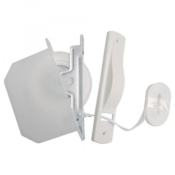 Recogedor emb.c/cinta estrecha 6m.blanco