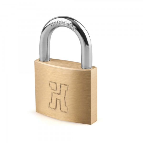 Candado laton handlock   a/n   60 mm.