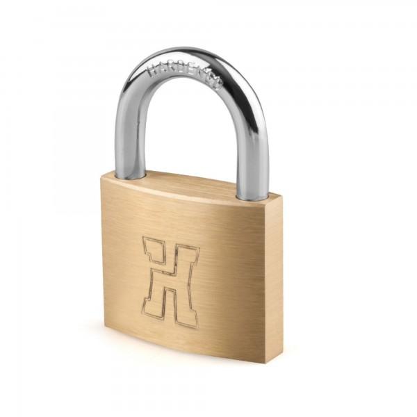 Candado laton handlock  a/l25 ll/iguales