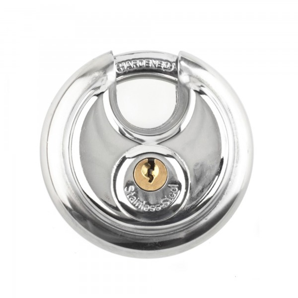 Candado circular inox handlock 70 mm.