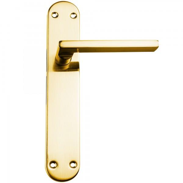 Manivela handlock recta oro brillo