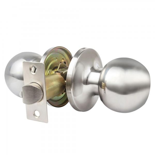 Pomo puerta handlock cil. paso 60/70 c/b