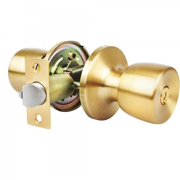 Pomo puerta handlock tub. ofic 60/70 l/m