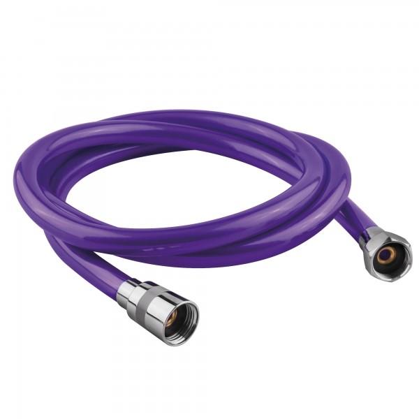 Flexo ducha pvc violeta 1.8mts