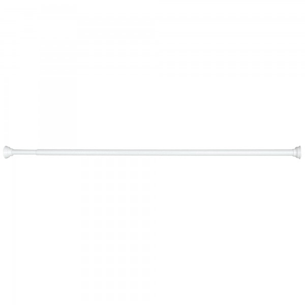 Barra baño ext.blanca 120-220cm. blister