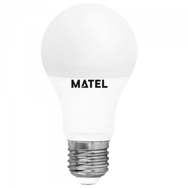 Bomb.led estandar  e27 12w.cal.