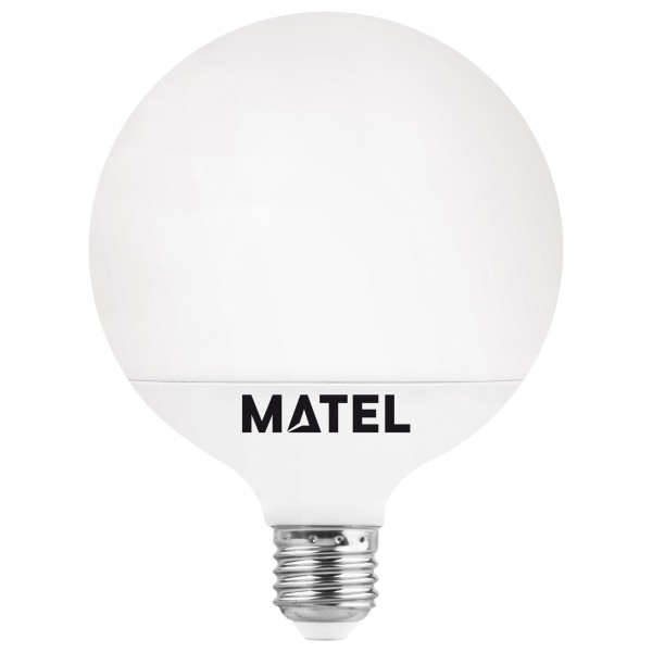 Bomb.led globo   g95 e27 15w.calida