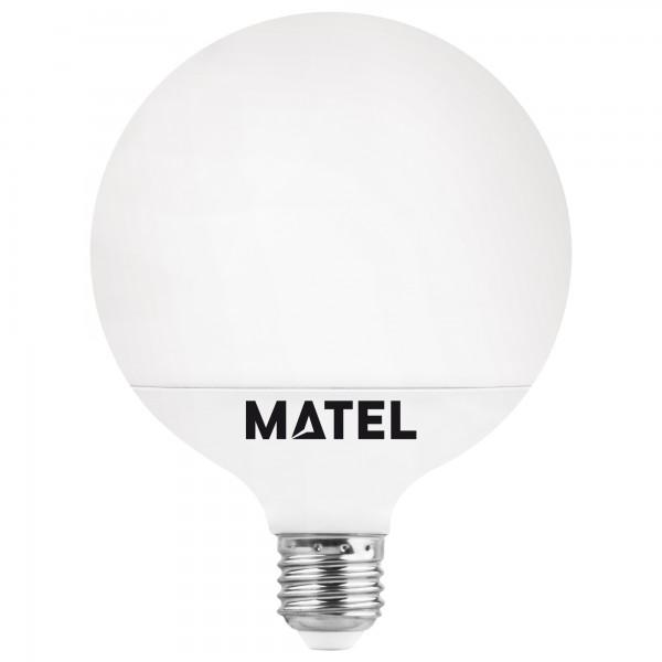 Bomb.led globo   g95 e27 15w.neutra