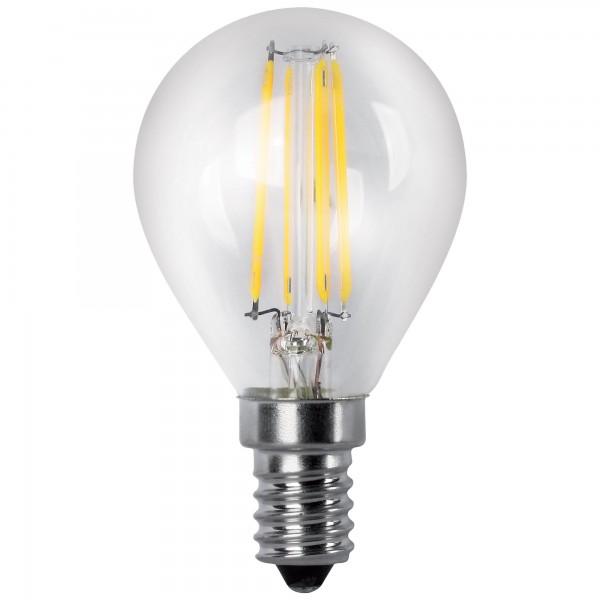 Bomb.led filament.esfer.clara e14 4w.ca