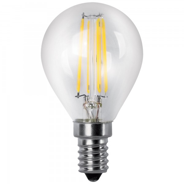 Bomb.led filament.esfer.clara e14 4w.fr