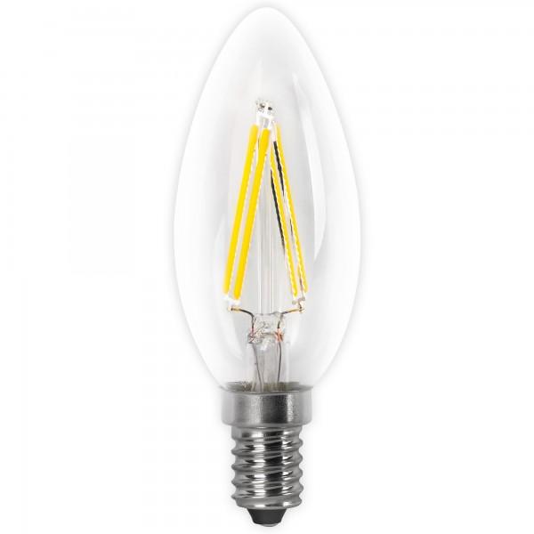 Bomb.led filament.vela clara e14 2w.fria