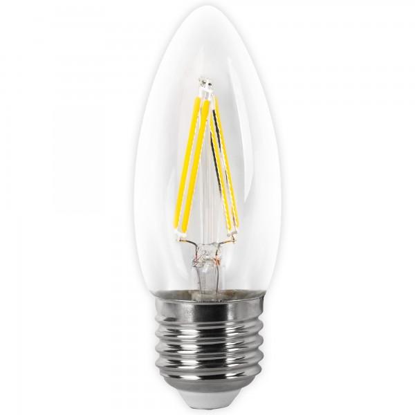 Bomb.led filament.vela clara e27 2w.fria