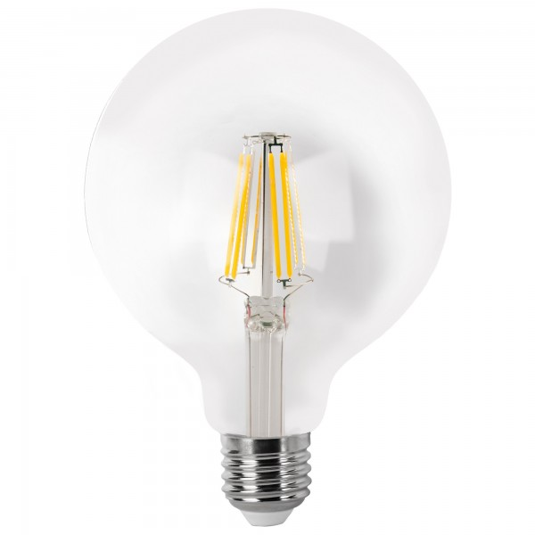 Bomb.led filament.globo  g95 cla.e27 4wc