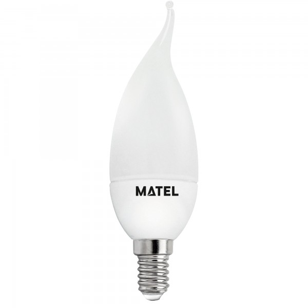 Bomb.led vela flama 3 intensid.e14 5w.fr