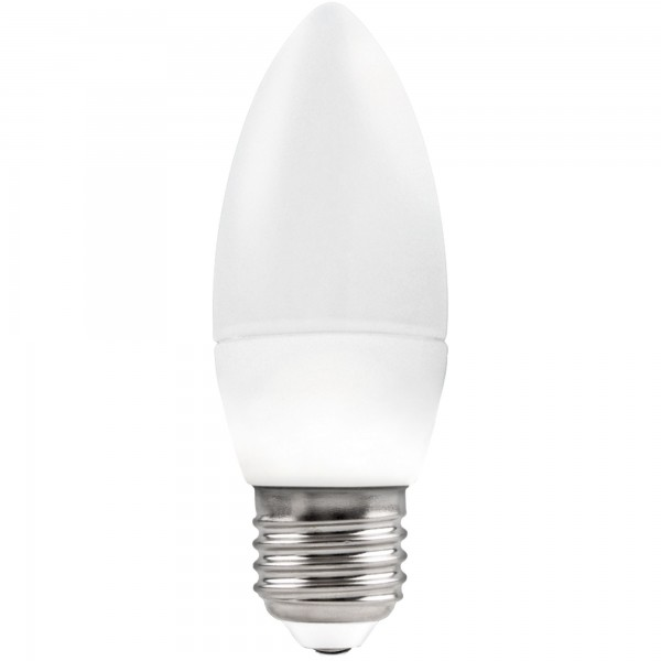 Bomb.led vela regulable e27 7w.neutra