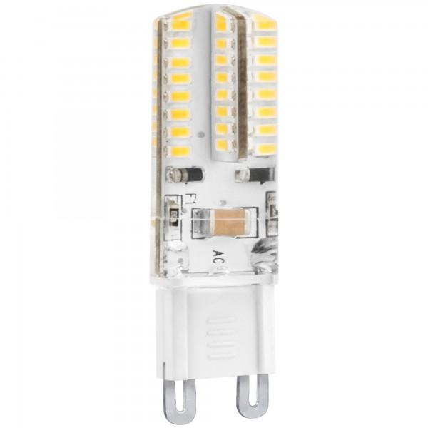 Bomb.led silicona g9 3w. 230v. calida