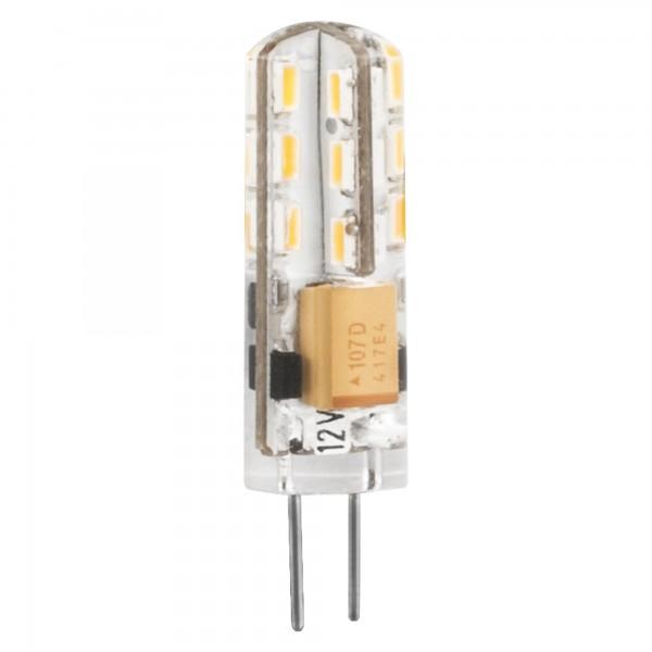 Bomb.led silicona g4 2w. 230v. calida
