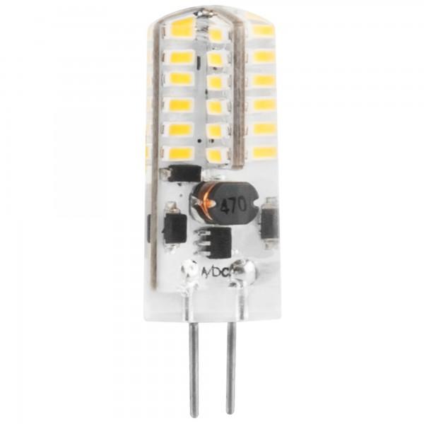 Bomb.led silicona g4 3w. 12v. calida