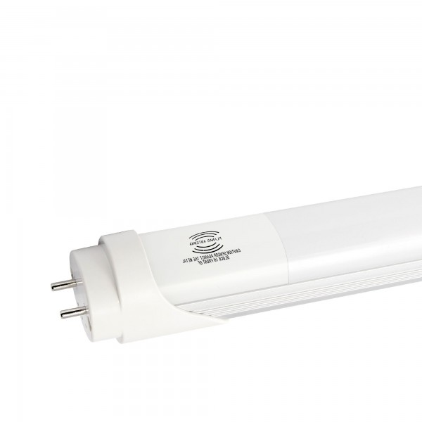 Fluores.led sensor aluminio 150cm.25w.fr
