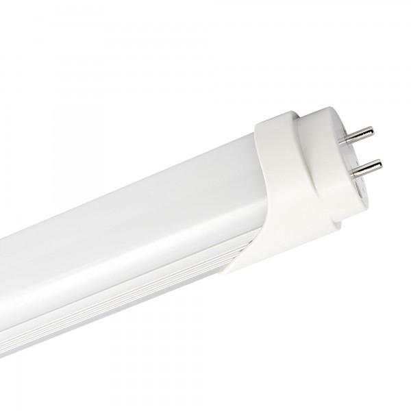 Fluores.led t8 aluminio mate 120cm 18wfr