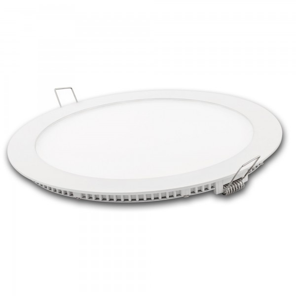 Downlight led redondo blanco 12w.fria