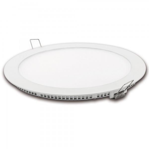 Downlight led corte 185mm.blanco 18w.cal