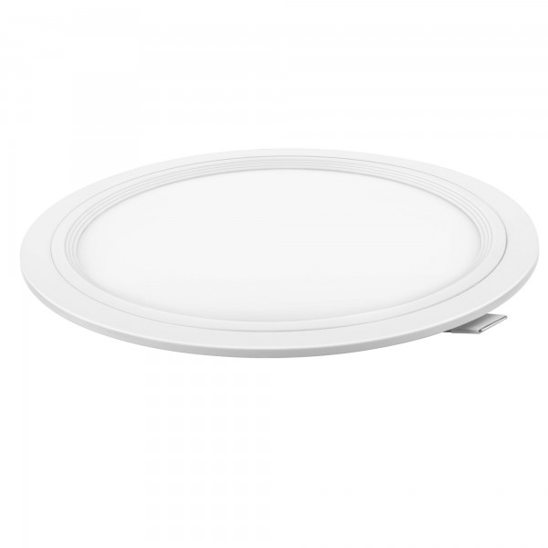 Downlight led corte 190mm.blanco 18w.neu