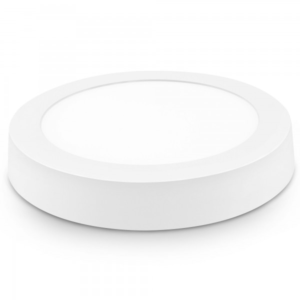Downlight led superf.redon.blanco 24w.ca