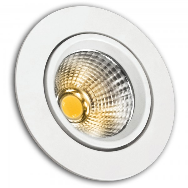 Aro led cob alum.basc.red.blanco 5w.cali