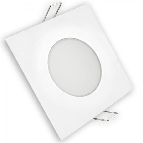 Aro led fijo ip65 cuadrado blanco 5w.fri