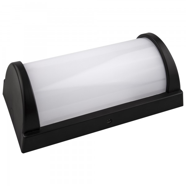 Aplique led ip65 negro 296x146mm.20w.fr